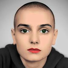 Sinead O Connor without hair