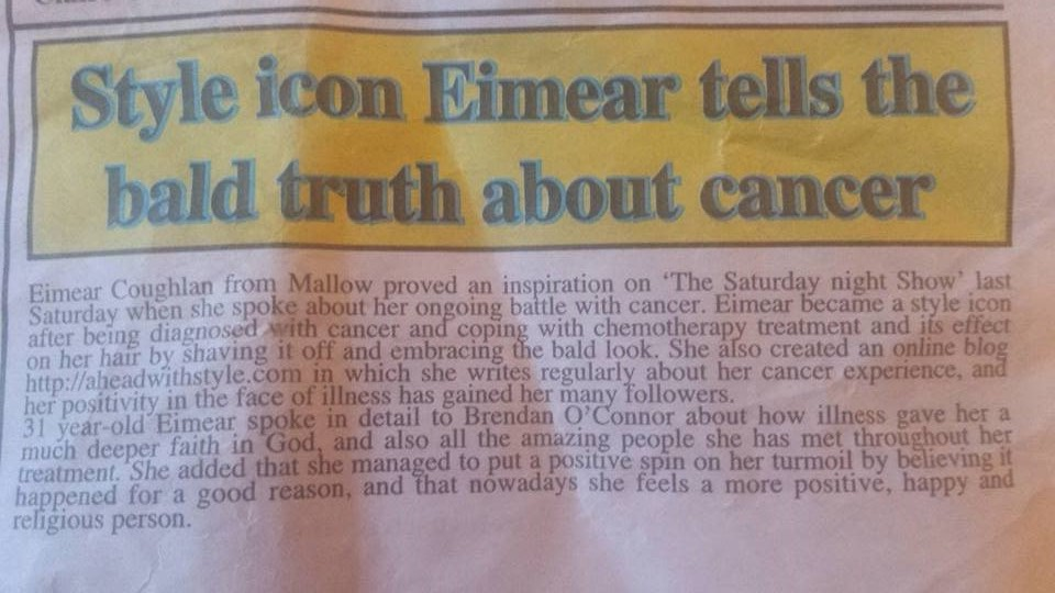 Eimear Coghlan ahead with style Mallow Star