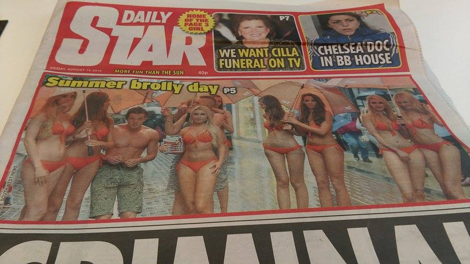 EIMEAR COGHLAN SAFETANNING LONDON TANORGANIC Daily Star