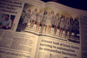 EIMEAR COGHLAN SUNDAY INDEPENDENT TANORGANIC SAFETANNING LONDON