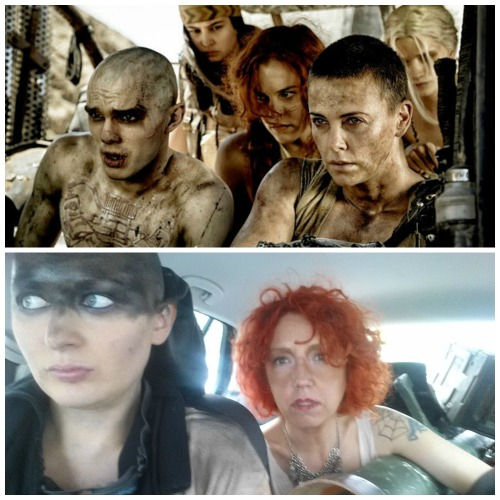 Mad Max Furiosa A head with style