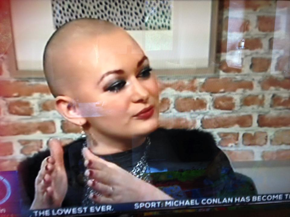 A HEAD WITH STYLE EIMEAR COGHLAN OASIS IRELAND AM