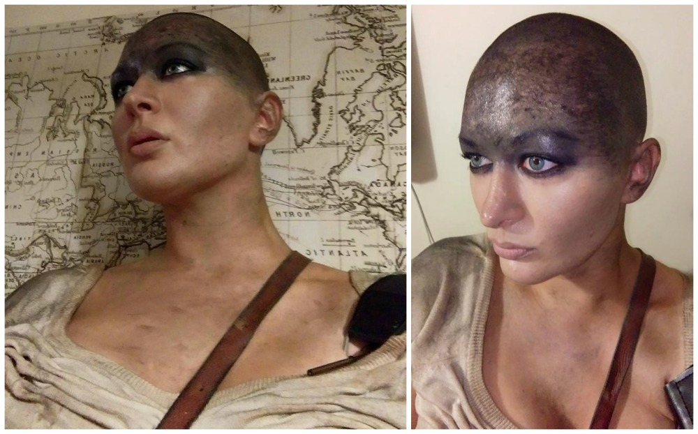 Eimear Coghlan Malloween A Head with Style Furiosa