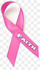 pink ribbon faith breast cancer